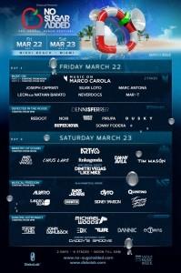 NoSugarAdded-Miami2013-Lineup
