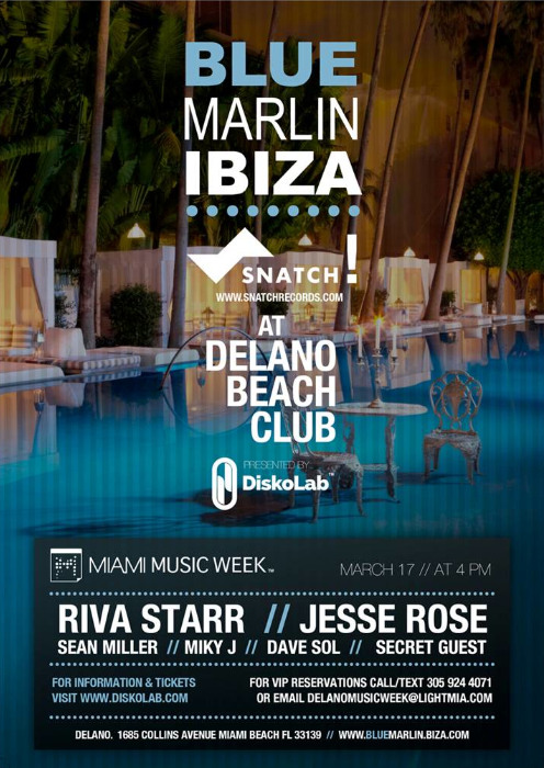 Diskolab miami music week 2013 events and lineups we for Delano promo code