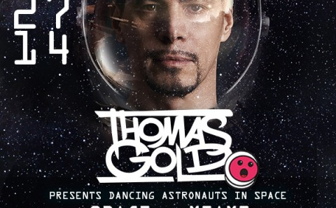 Thomas Gold present Dancing Astronauts in Space