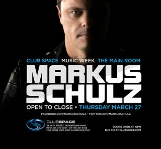 Markus Schulz at Space Miami